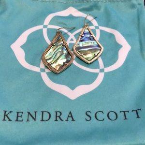 Kendra Scott Alex Abalone Shell Earrings